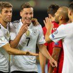 Германия разгроми Норвегия, Англия с обрат срещу Словакия