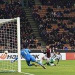 Лудогорец отново загуби от Милан и отпадна безславно от Лига Европа